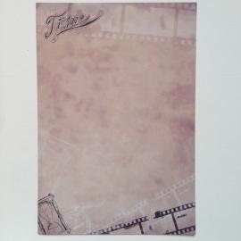 Briefpapier set van 8 bladen, met prachtige decoraties