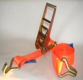 Spanband 75 mm 10000 kg oranje