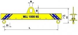 1000 kg L 2000 mm