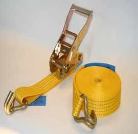 Spanband 50 mm 5000 kg geel
