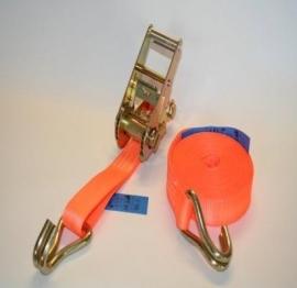 Spanband 25 mm 2500 kg oranje