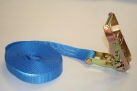 Eindloze spanband 25 mm 1500 kg blauw