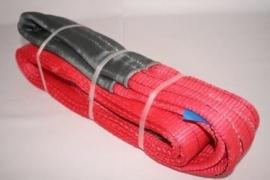 Hijsband 5000 kg Rood