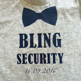 T-shirt Bling Security