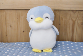 Knuffel Pinguin met naam en geboortedatum