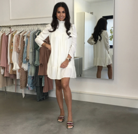 KNOW MY TYPE CREAM DRESS By Yessey