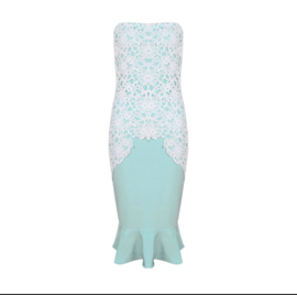 MINTY LACE  DRESS  By Yessey