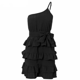 CAUGHT YOUR EYE BLACK DRESS By Yessey