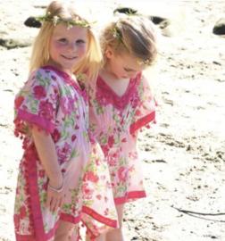 PINK beach Dress KIDS by yessey