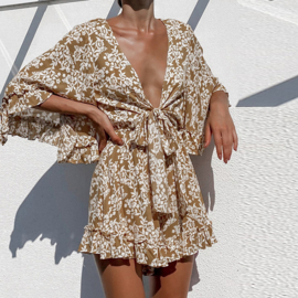 NEUTRALS PLAYSUIT By Yessey
