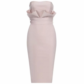 ROMMI STRAPLESS DRESS By Yessey