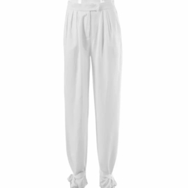 BOW TIE WHITE PANTS By Yessey