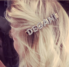 PERSONALISED NAME GLAM CLIP