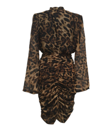LEO DRAPE DRESS  By Yessey