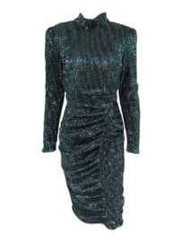 EMERALD SEQUIN DRESS By Yessey