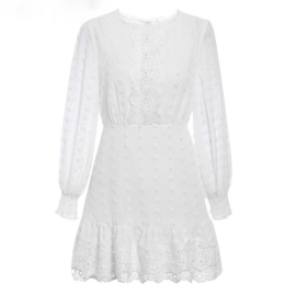 NO DOUBT ABOUT IT WHITE DRESS By Yessey