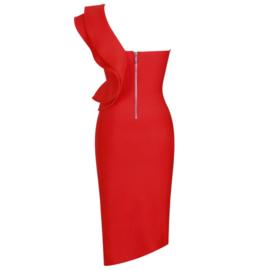 NALANI RED DRESS By Yessey
