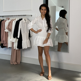 BRING ME TO THE SKY WHITE  DRESS By Yessey