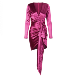 WATERFALL HOTPINK DRESS By Yessey
