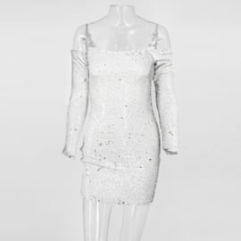 SEQUINS ALLOVER  DRESS By Yessey