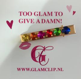RAINBOW GLAM CLIP