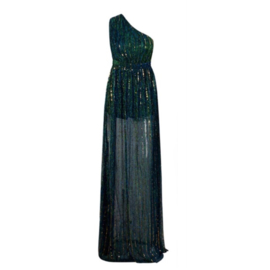 GODDESS GREEN MAXI DRESS By Yessey