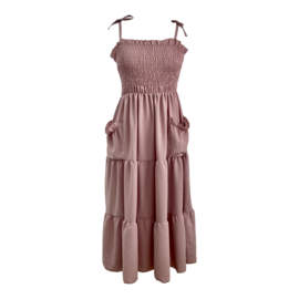 POCKET DRESS PINK By Yessey