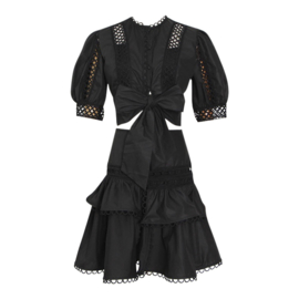 SUMMERTIME HEARTS BLACK SET By Yessey