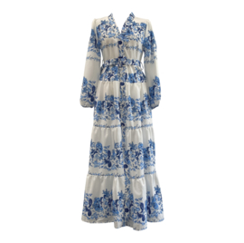 VISION OF LOVE BLUE MAXI DRESS By Yessey
