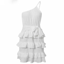 CAUGHT YOUR EYE WHITE DRESS By Yessey
