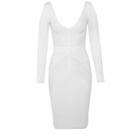 EVELYNE  LONG SLEEVE  DRESS  By Yessey