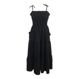 POCKET DRESS BLACK By Yessey