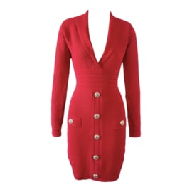 BALM RED DRESS By Yessey
