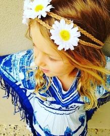Blue & white KAFTAN KIDS by yessey