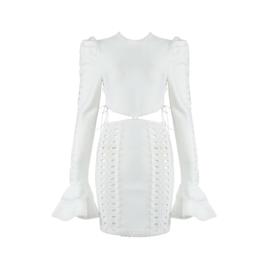 LILIBETH WHITE DRESS  By Yessey