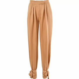 BOW TIE PEACH PANTS By Yessey