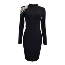 GLORIANE BLACK DRESS By Yessey