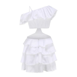 FLAVOUR OF SUMMER WHITE DRESS By Yessey
