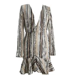 LINES PAILLETEN DRESS By Yessey