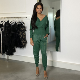 COMFY SET SPARKLE GREEN By Yessey