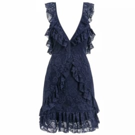 BLUE LACE DRESS  By Yessey