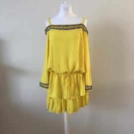 FAUST Tuniek Geel Dress  By Yessey