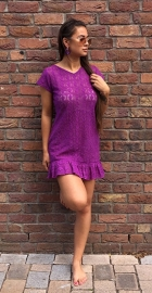 PURPLE RAIN SUMMER DRESS LACE By Yessey