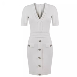 WHITE LOVE DRESS By Yessey