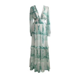 GREEN PERFECT SUMMER MAXI DRESS By Yessey