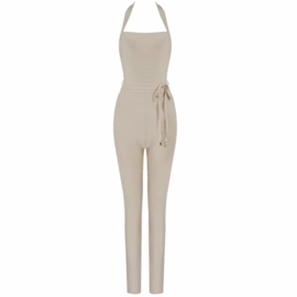 MEMPHIS NUDE JUMPSUIT By Yessey
