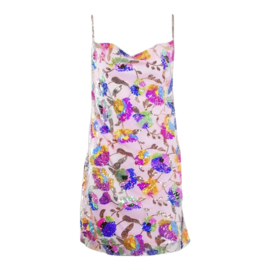 COLOR BOMB PINK LOOSE DRESS By Yessey