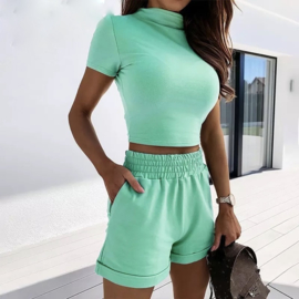 COMFY COZY SET MINT By Yessey