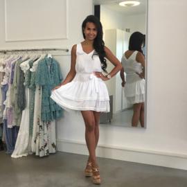 WHITE SEASIDE  DRESS By Yessey
