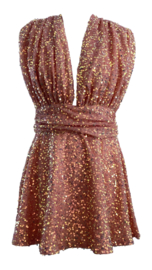 SHINE ALL OVER  DRESS By Yessey